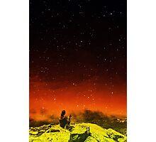 Burning Hill Photographic Print