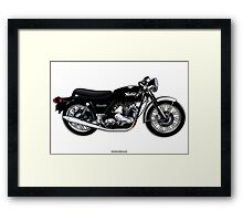 Norton Commando illustrations by Anthony Armstrong Framed Print