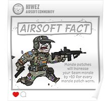 Airsoft Fact 1 Poster