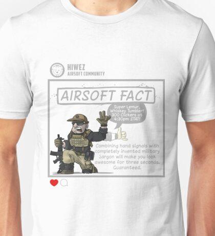 Airsoft Fact 2 Unisex T-Shirt