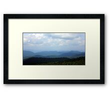 Blue Ridge Vista, Virginia Framed Print