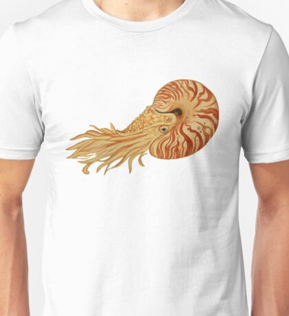 Watercolor Nautilus Unisex T-Shirt