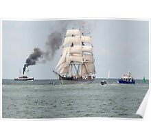 Hanse Sail Rostock Germany 2016 Poster