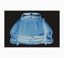 Mercedes Benz 300 SL Convertible Modern Art Kids Tee