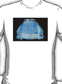 Mercedes Benz 300 SL Convertible Modern Art T-Shirt