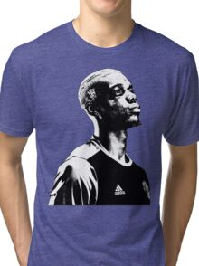 Paul Pogba - Manchester United Tri-blend T-Shirt