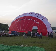 Bristol Balloon Firest by Keith Larby