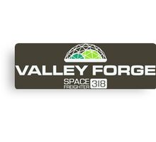 Silent Running Valley Forge Space Freighter Canvas Print