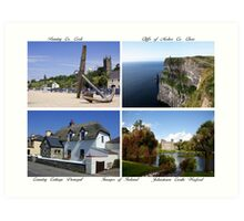 Images of Ireland Art Print