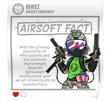 Airsoft Fact 4 Poster