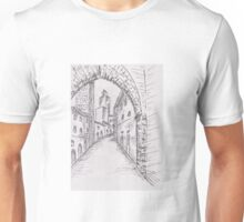 Italian Historic Town Sketch 2 Unisex T-Shirt