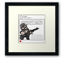 Airsoft Fact 5 Framed Print