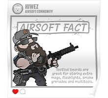 Airsoft Fact 5 Poster