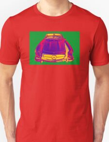Mercedes Benz 300 SL Convertible Pop Art T-Shirt