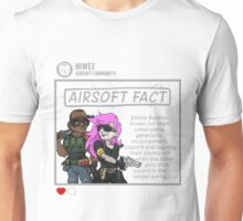 Airsoft Facts 6 Unisex T-Shirt