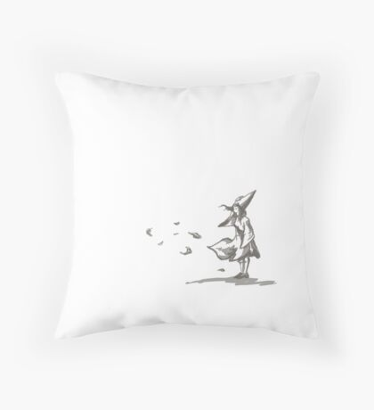 No Distress Throw Pillow