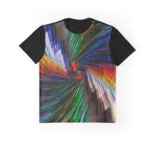 Multimedia swirl Graphic T-Shirt
