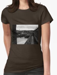 Liverpool Canal I Womens Fitted T-Shirt