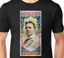 Performing Arts Posters William H Wests Big Minstrel Jubilee 1862 Unisex T-Shirt