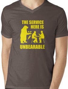 The Service Here Is Unbearable Mens V-Neck T-Shirt