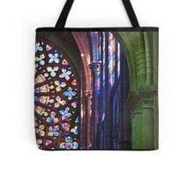 Brilliant Colors in Church Rosette Tote Bag