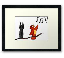 Batman and Robin Framed Print