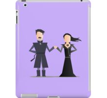 #4 Sansa and Littlefinger iPad Case/Skin