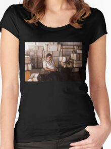 Narcos - Pablo Escobar  Women's Fitted Scoop T-Shirt