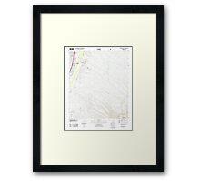 USGS TOPO Map Arizona AZ Green Valley 20120518 TM Framed Print