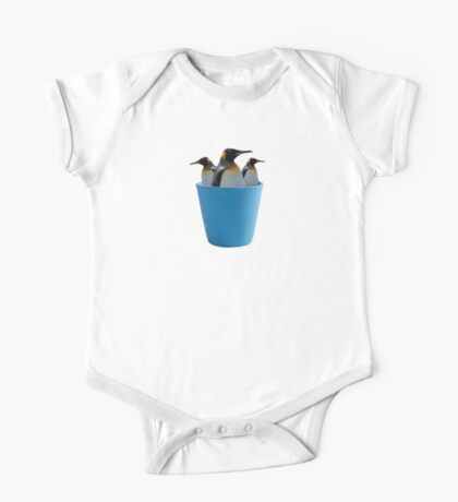 Cup a Penguins One Piece - Short Sleeve