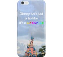 disney lover quote iPhone Case/Skin