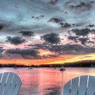 Sunset In Rhode Island by Nancy Richard