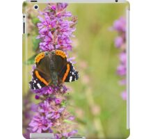Red Admiral Butterfly iPad Case/Skin