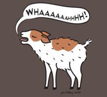 Yelling Kid Goat Baby Tee