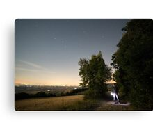 Rave of the Fireflies Canvas Print