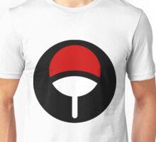 Uchiha Black Symbol (Front) Unisex T-Shirt