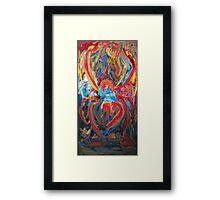 The True Black Widow by Darryl Kravitz Framed Print