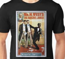 Performing Arts Posters Wm H Wests Big Minstrel Jubilee 1782 Unisex T-Shirt
