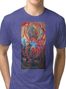 The True Black Widow by Darryl Kravitz Tri-blend T-Shirt
