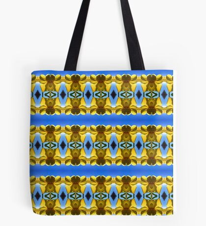 Lakeside Daffodil Strip (VN.178) Tote Bag