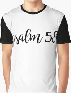 Psalm 58 Graphic T-Shirt