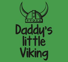 Daddy's Little Viking Kids Tee