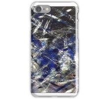 Modern Abstract Blue/ Black Designs iPhone Case/Skin