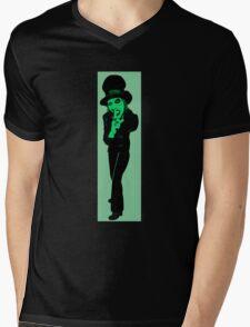 Marylin Cartoon Mens V-Neck T-Shirt