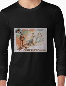 Performing Arts Posters Reeves Palmers Cosmopolitan Company 1990 Long Sleeve T-Shirt