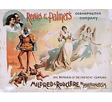 Performing Arts Posters Reeves Palmers Cosmopolitan Company 1990 Photographic Print