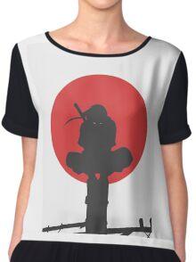 Uchiha Itachi Ninja Chiffon Top