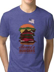 Benny's Burgers Tri-blend T-Shirt