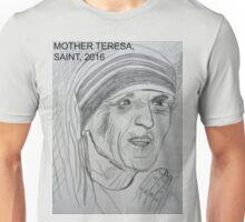 Mother Teresa of Calcutta, Saint, 2016 Unisex T-Shirt