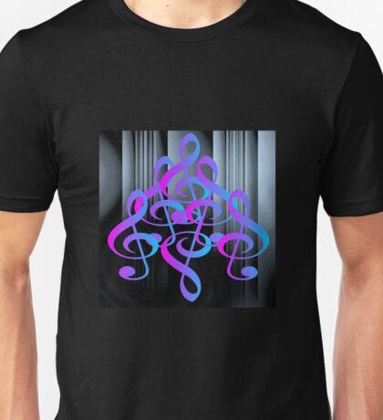 G clef design by Darryl Kravitz Unisex T-Shirt